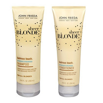 Sheer Blonde Lustrous Touch Strengthening John Frieda - Kit