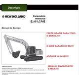 Manual De Serviço Escavadeira E215lc/me