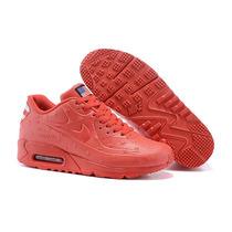 Nike Air Max Hyperfuse Rojas Y Negras Lo Mas Buscado!!