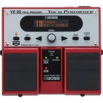 Pedal Boss Processador Vocal Ve 20