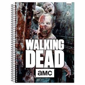 Caderno Univ. 01 Máteira 96fls Capa Dura The Walking Dead