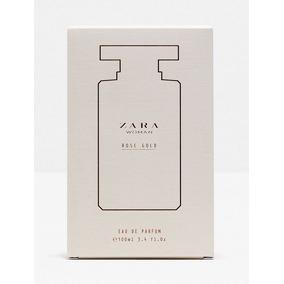 Zara Rose Gold Perfume Feminino Promoção Presente Namorados