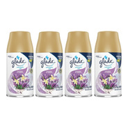 Refi Glade Automatic Lavanda & Vanilla 269ml Kit 4 Unidades