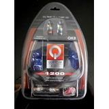 Kit De Instalación Para Amplificador Marca Quantum Audio # 8