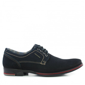 Sapato Social Pegada 23604-03 Masculino Em Couro Sport Fino