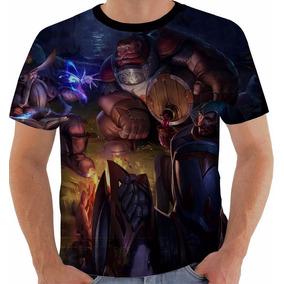 Camiseta League Of Legends Braum Lionheart Lol Color