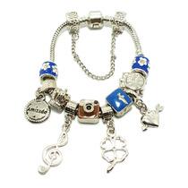 Pulseira Bracelete Pandora Moments Vivara Life +10 Berloques