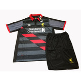 Equipo Camiseta Short Liverpool Adulto Ultimo Talle L