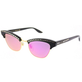 543e13d7905d7 Óculos Gucci Gg 1013 s Black green red 51n Unisex Designer - Óculos ...