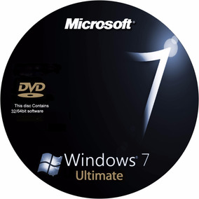 Cd Dvd Windows 7 Ultimate 32/64bit + Chave Original