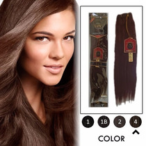 Extension Cabello Luv Remy 100% Humano Remy 18plg 1.5mts
