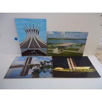 Lote - Brasília (distrito Federal) 4 Cartões Postais
