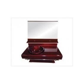 Gabinete De Vidro Bancada Banheiro Estilo Astra Chopin 70cm