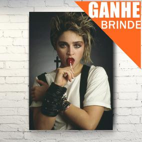 Poster Madonna - Tamanho Grande + Brinde