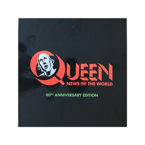 Queen News Of The World 40th Anniv Importado Box Set Novo