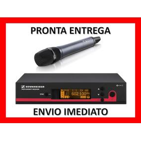 Receptor Sennheiser Em 100 G3 + Microfone S/ Fio - Novo + Nf