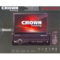 Crown Mustang Dmr-12000bt Stereo In Dash, Bluetooth