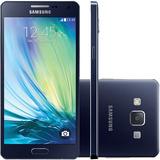 Galaxy A5 2015 4g Dual 13mp Azul Ram 2gb 16gb- De Vitrine