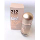 Perfume 212 Vip Rose Carolina Herrera Mujer 80 Ml Original