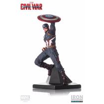 Captain America 1/10 Captain America Civil War Iron Studios