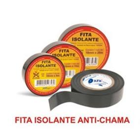Fita Isolante Anti Chama Afa 18mm X 10m Kit 05 Unidades