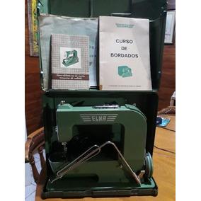 Maquina De Costura Elna Suíça 1940 100% Original!
