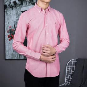 Camisa Polo Ralph Lauren Masculina Vermelha Pronta Entrega