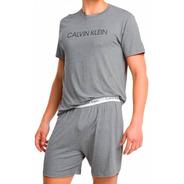 Pijama Calvin Klein Masculino De Bermuda - Original