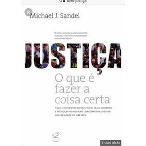 Caixa 18 Livros Justiça