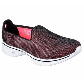 Zapatillas Skechers Go Walk 4 Majestc Mujer Caminata Importa