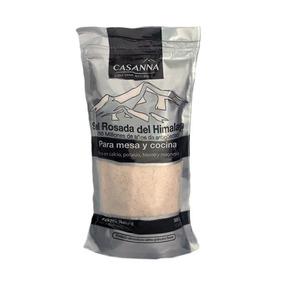 Sal Rosada Del Himalaya Cristales Finos X 500 Gr - Casanna