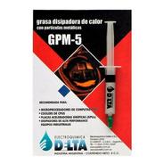 Grasa Termica Delta 5cc Siliconada Disipadora - Factura A/b