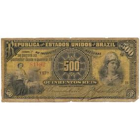 500 Reis No Estado Rara.