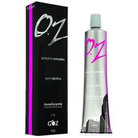 Oz Creme Tonalizante 7.0 Loiro Médio Natural 60g