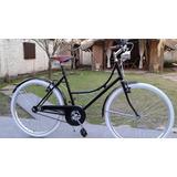 Bicicleta Inglesa Vintage Con Farol Retro !!!