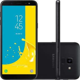 Celular Samsung Galaxy J6 Preto 64gb Tv Digital Tela De