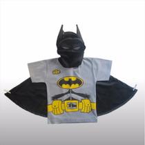 Remera Original Disfraz Superheroe Batman Comic Capa Mascara