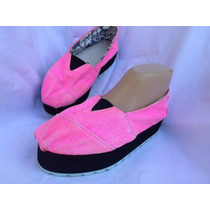 Zapatilla Pancha Plataforma Fluor Ideal Playa Nº 39 38.5
