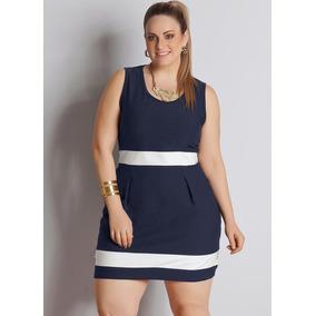 Vestido Modelo Tubinho Plus Size Roupas Tamanhos Especiais