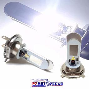 Lampada Farol Super Led Branca Universal H4 5w 8000k Barato