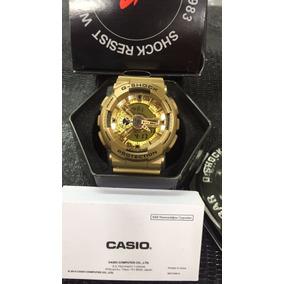 92cad3adbd5 Relógio Casio G Shock Ga 110 Dourado - Joias e Relógios no Mercado ...