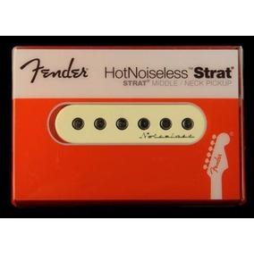 Captador Fender Hot Noiseless Strato Para Meio E Braço