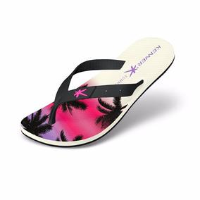 Sandália Kenner Summer Hawaii White Original Em Promoção