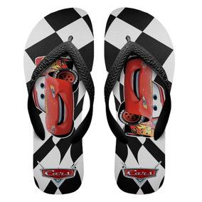 18b105e0b Chinelo Do Carros Mcqueen - Sapatos Preto no Mercado Livre Brasil