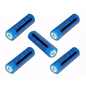 5 Baterias 9800mah 18650 3.7v Para Lanterna Tática Police