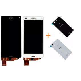 Display Lcd Sony Xperia Z3 Compact Pr/br + Tampa Traseira