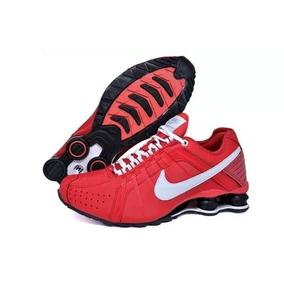 Tênis Masculino Nike Shox para Masculino Livre Vermelho no Mercado Livre Masculino 354b10