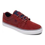 Zapatillas Dc Shoes Tonik Se Dark Red Bordo Drk