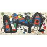 Joan Miró, Litografía Certificada