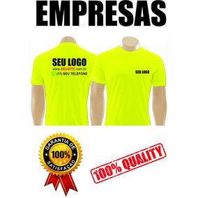 Kit Com 20 Camisetas Uniformes Para Empresas Com Seu Logo d2e870b53885c